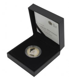 2012 Silver Proof £2 Charles Dickens for sale